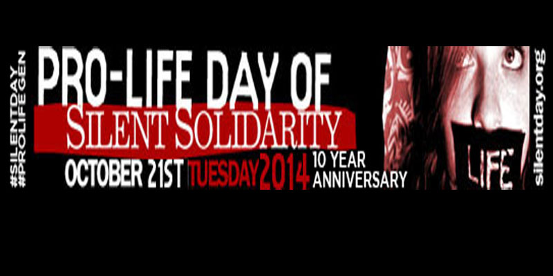 Pro-life Day of Silent Solidarity