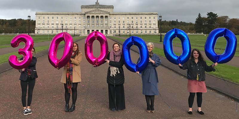 Precious Life send a powerful reminder that an incredible 300,000 people say NO to abortion in Northern Ireland