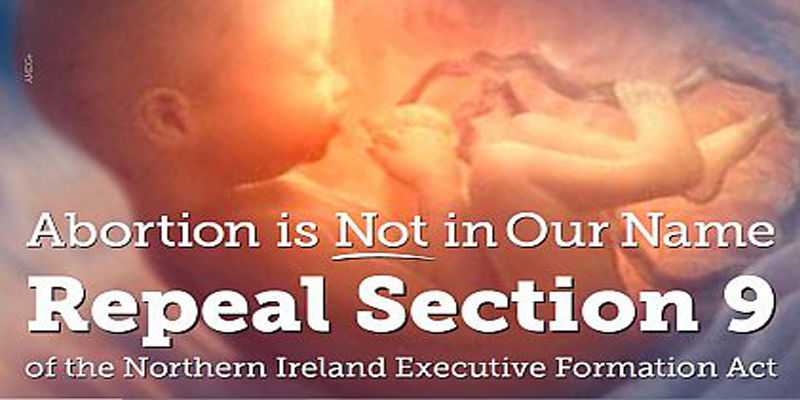 Sign the Urgent Online Petition: Repeal Section 9