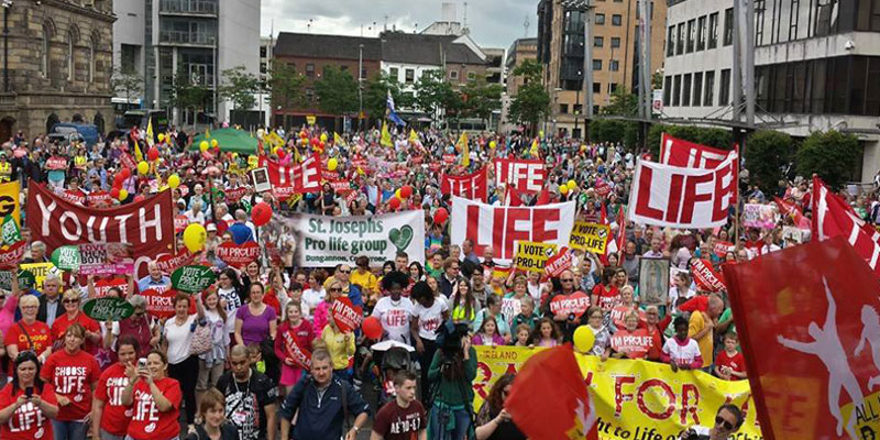 All Ireland Rally for Life Belfast