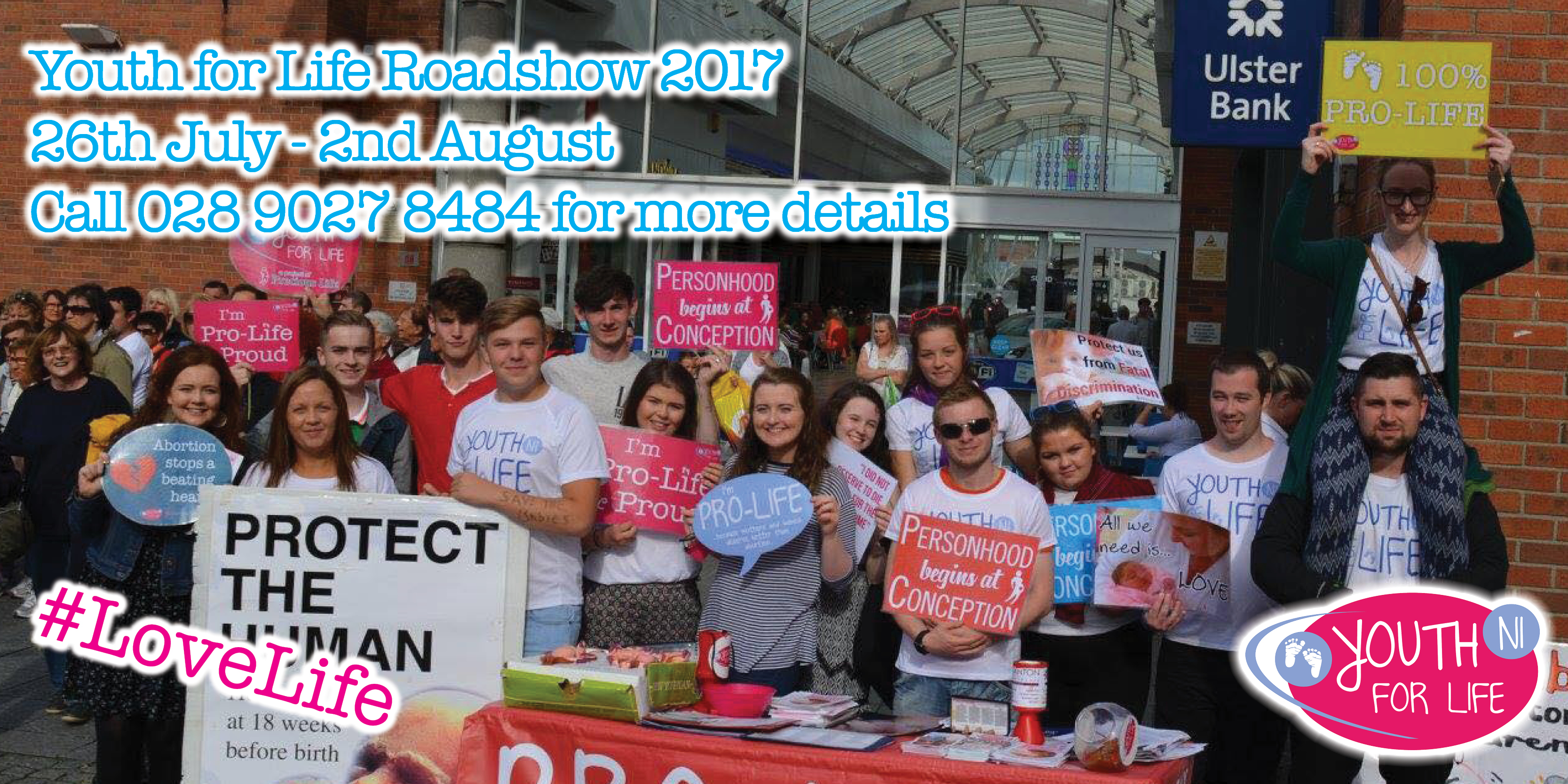 Join our #LoveLife Roadshow 2017