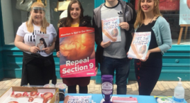 Pro-Life Roadshow hit towns across Northern Ireland in August