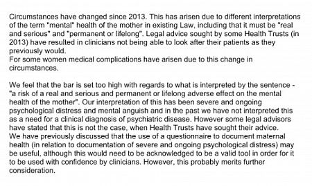 Pro-life campaigners should be wary of letter from NICRCOG Chair Carolyn Bailie