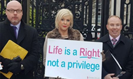 PRESS RELEASE: Precious Life prepare legal fight against radical abortion regime